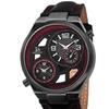 Joshua And Sons Men's Swiss Quartz Dual Time Watch JSGP83RD