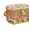 Lil Sew and Sew Fs-095 Sewing Basket With 41-piece Sewing Kit