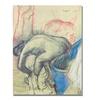 Edgar Degas After Bath 1903 Canvas Print