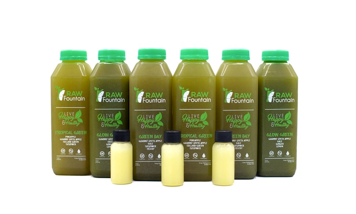 Up To 50 Off On Green Juice Cleanse Detox C Groupon Goods