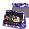 Insten Purple Giraffe Leather Case For Kindle Fire HDX 8.9 2013 2014