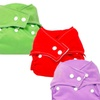 3-Pack Reusable Cloth Diapers