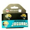 NFL Jacksonville Jaguars  Rubber Wrist Bands Bracelets  Set of 2