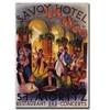 Savoy Hotel St. Moritz Canvas Print