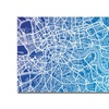Michael Tompsett London Map Canvas Print