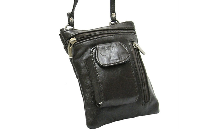 100% Genuine Leather Cross-Body bag