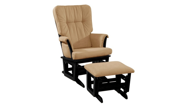 Dream On Me Windsor Glider And Matching Ottoman Groupon