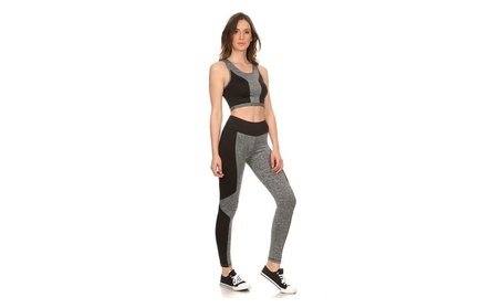 Womens Activewear Set - Excercise / Running / Yoga - LuxClub Styles 2b92bf22-18d4-49b1-bfdf-25d5d0c65eea