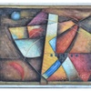 """Oil Painting on Canvas 36"""" x 48"""" Colorful Abstract Compilation"""