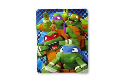 Nickelodeon Teenage Mutant Ninja Turtles Fleece Throw 3ee0eb2b-b1f1-41ff-8467-f7b34e6b680b