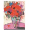 Sheila Golden Scarlet Bouquet Canvas Print