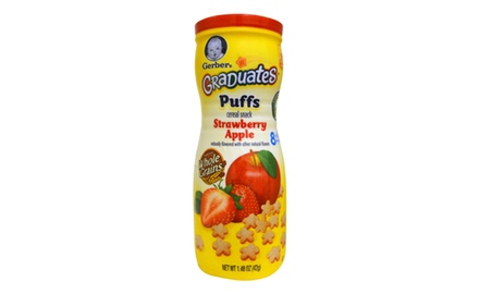 What age for gerber puffs