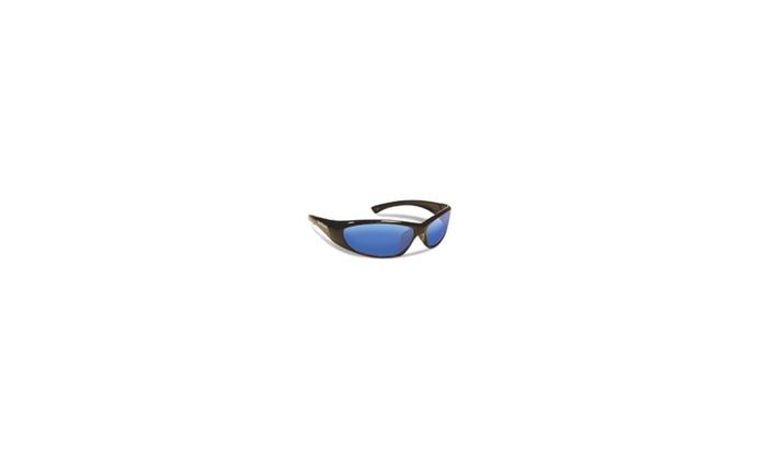 Fly Fish Sunglasses Jr Anglr Fluke Blk Smk/Blk Mrror 7892BSB