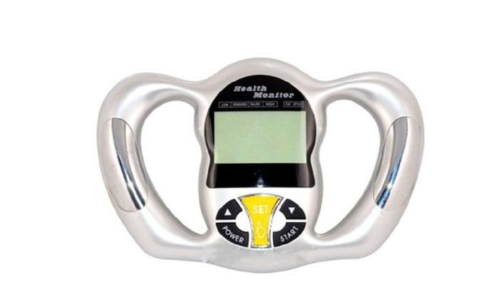 Handheld Body Fat Analyzer Monitor By Hometek