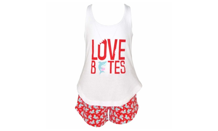 Love Bites Mommy and Me  Pajama Outfit 2t 3t 4t 5 6 7 8 Toddler Kids Clothes