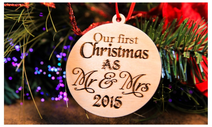 55% Off on Our First Christmas as Mr. & ... | Groupon Goods
