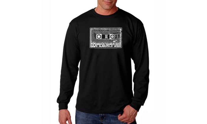 Men's Long Sleeve T-shirt - The 80's