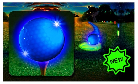 LED Blue Golf ball-6 Pack