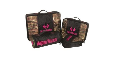 Watson Airlock Geo-Pak 4 pc. Set Pink/Mossy Oak b2f98315-dd1b-4509-9e28-5d930d440168