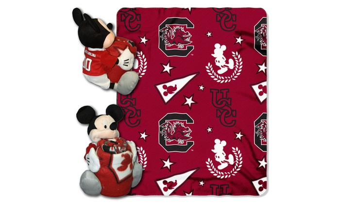 COB 038 South Carolina Mickey Hugger with Throw