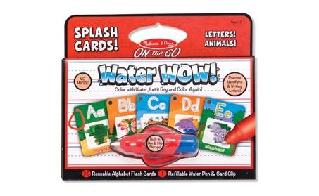 Melissa Doug Water Wow Splash Cards Alphabet 5236 913744f1-3808-42ed-b109-2649dbb99eff
