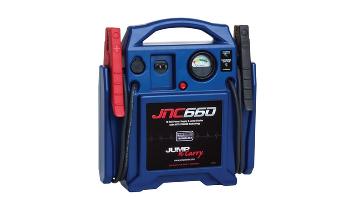 Jump N Carry Jnc660 >> Clore Automotive Jump N Carry Jnc660 1700 Peak Amp 12v Jump Starter
