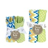 Trend Lab Bouquet Set - Levi - Bib & Burp Cloth