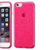 Insten Glittering Gel Cover Case For iPhone 6 Plus 6s Plus Hot Pink