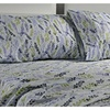 3 Piece Cotton Rich 300 Thread Count Printed Bed Sheet Set