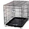 Pet Crate Dbl Door L