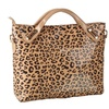 Women's Roomy Zebra Pattern Casual Handbag