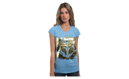 Illuminated Rose T Shirt