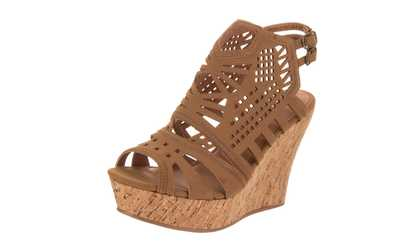 c68ab3c7c016c8 Shop Groupon Not Rated Women s Elysium Wedge Sandal