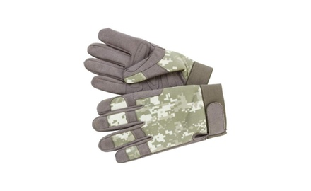 Camping, Hunting, Fishing Multi-purpose Digital Camouflage Gloves