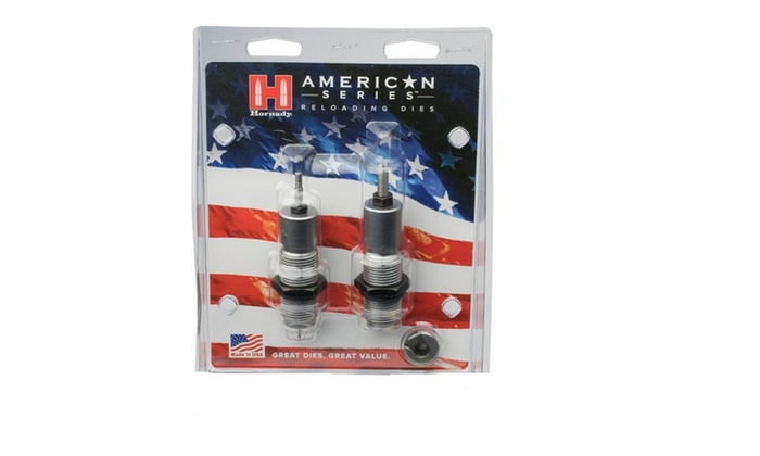 Hornady American Die Set 2 270 Win (.277) Free Shell Holder