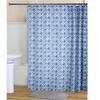 RT Design Tanner Shower Curtain Liner & Roller Hooks