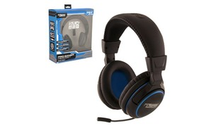 Wired Professional Headset w/ Microphone For PlayStation4 Black Large
