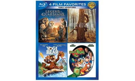 4 Film Favorites: Family Adventures (4FF) (BD) 285608d9-8583-41fd-a54f-2b69f18065ab