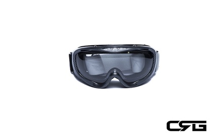CRG Motocross ATV DIRT BIKE OFF ROAD RACING GOGGLES Adult T815-37-1