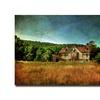 Lois Bryan 'Old Barn in Golden Light' Canvas Art