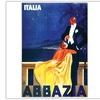 Italia Abbazia Canvas Print
