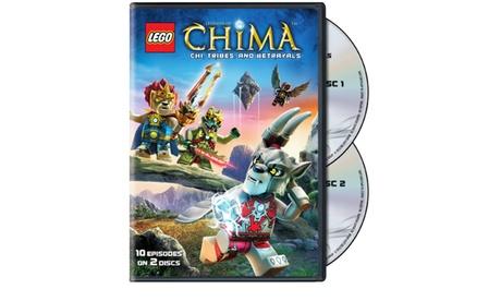 LEGO: Legends of Chima Season 1 Part 2 (DVD) 661e4bff-abce-4c7e-b1fd-7b2a9ca62c92