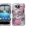 Insten Tear Diamante Phone Case for HTC: Inspire 4G