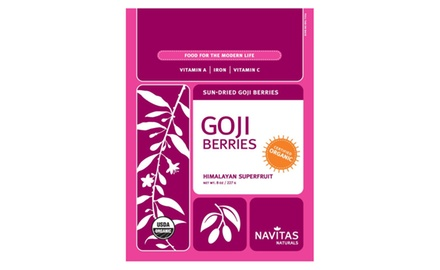 Navitas Naturals Organic Goji Berries, 8 Ounces