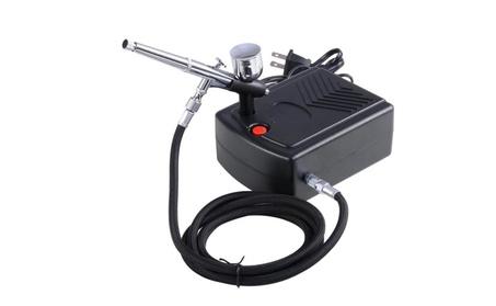 Airbrush Kit Compressor Nail Art Tattoo Dual-Action Spay Set ce28199f-cb1d-4c41-99cc-4bad77c03176