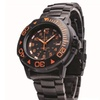 Smith & Wesson Swiss Tritium Diver Watch - Black/Orange