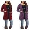 Women's Loose Long Sleeve Open Front Breathable Cardigan Sweater
