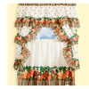 "Tutti Frutti Kitchen Curtain Cottage Set 36""x57""- Multi Color"