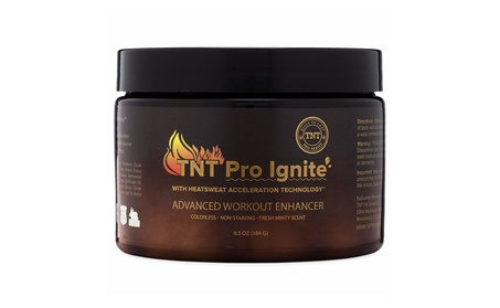 TNT Pro Ignite Stomach Fat Burner Body Slimming Cream 6.5 oz Jar