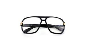MLC EYEWEAR Hip Hop Legend style Clear Lens Aviator Glasses